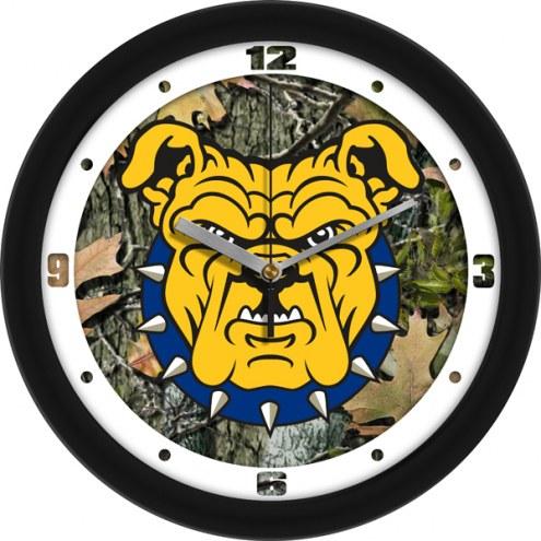 North Carolina A&T Aggies Camo Wall Clock