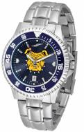 North Carolina A&T Aggies Competitor Steel AnoChrome Color Bezel Men's Watch
