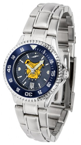 North Carolina A&T Aggies Competitor Steel AnoChrome Women's Watch - Color Bezel