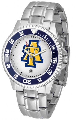 North Carolina A&T Aggies Competitor Steel Men's Watch