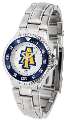 North Carolina A&T Aggies Competitor Steel Women's Watch