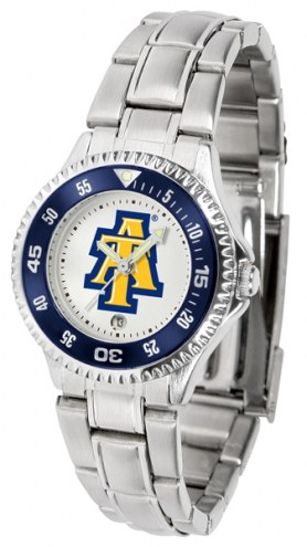 North Carolina A&T Aggies Competitor Steel Women's Watch