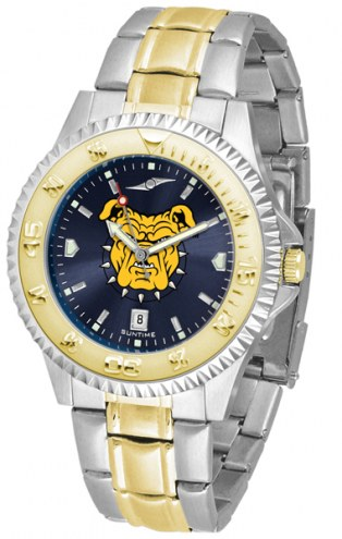 North Carolina A&T Aggies Competitor Two-Tone AnoChrome Men's Watch
