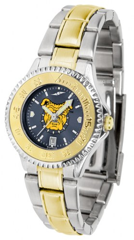 North Carolina A&T Aggies Competitor Two-Tone AnoChrome Women's Watch
