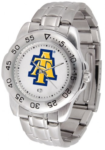North Carolina A&T Aggies Sport Steel Men's Watch
