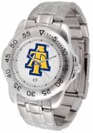 North Carolina A&T Aggies Sport Steel Men's Watch