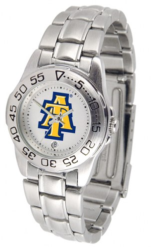 North Carolina A&T Aggies Sport Steel Women's Watch