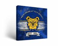 North Carolina A&T Aggies Banner Canvas Wall Art