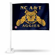 North Carolina A&T Aggies College Car Flag