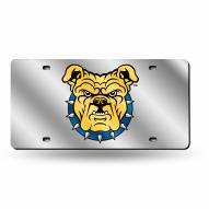 North Carolina A&T Aggies Silver Laser License Plate