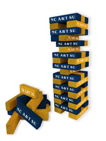 North Carolina A&T Aggies Table Top Stackers