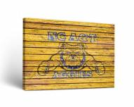 North Carolina A&T Aggies Weathered Canvas Wall Art