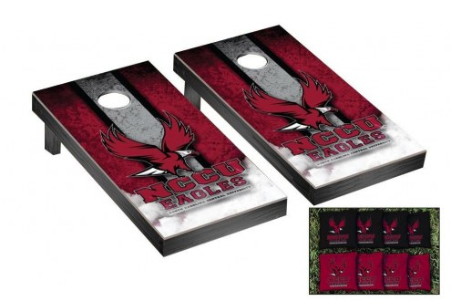 North Carolina Central Eagles Mini Cornhole Set