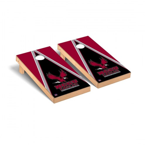 North Carolina Central Eagles Triangle Wooden Cornhole Game Set