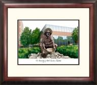 North Carolina Charlotte 49ers Alumnus Framed Lithograph