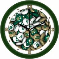 North Carolina Charlotte 49ers Candy Wall Clock