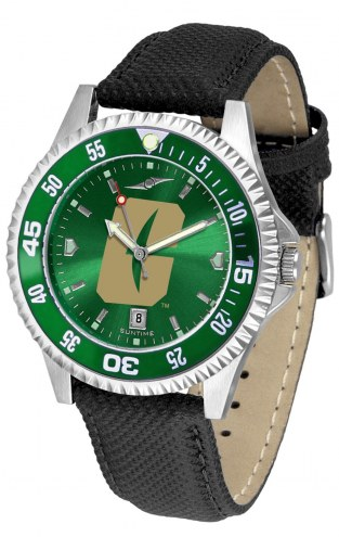 North Carolina Charlotte 49ers Competitor AnoChrome Men's Watch - Color Bezel
