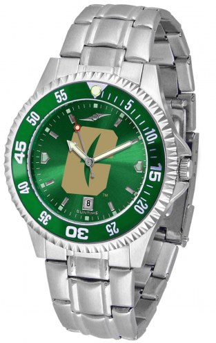 North Carolina Charlotte 49ers Competitor Steel AnoChrome Color Bezel Men's Watch