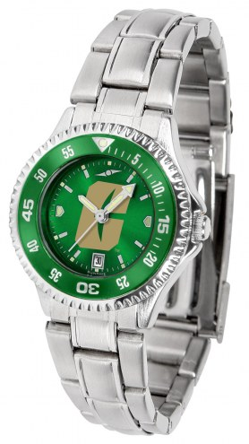North Carolina Charlotte 49ers Competitor Steel AnoChrome Women's Watch - Color Bezel