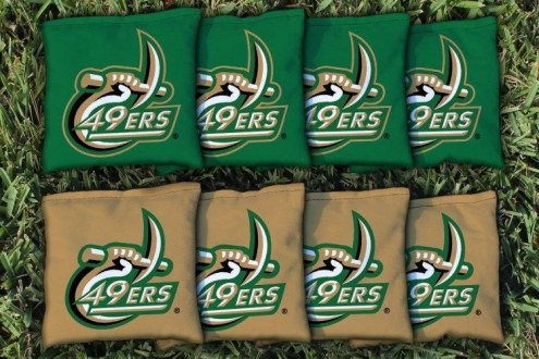 North Carolina Charlotte 49ers Cornhole Bag Set