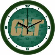 North Carolina Charlotte 49ers Dimension Wall Clock