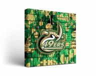 North Carolina Charlotte 49ers Fight Song Canvas Wall Art