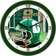 North Carolina Charlotte 49ers Football Helmet Wall Clock