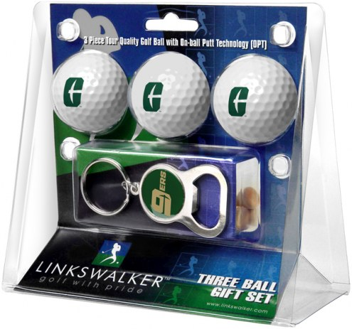North Carolina Charlotte 49ers Golf Ball Gift Pack with Key Chain
