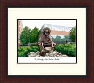 North Carolina Charlotte 49ers Legacy Alumnus Framed Lithograph