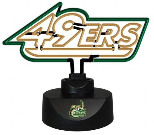 North Carolina Charlotte 49ers Team Logo Neon Lamp