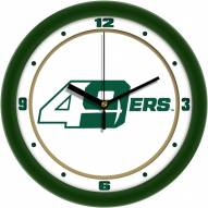 North Carolina Charlotte 49ers Traditional Wall Clock