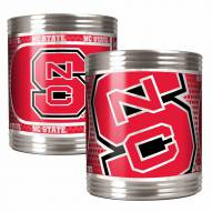 North Carolina State Wolf Pack Stainless Steel Hi-Def Coozie Set