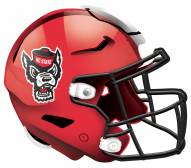 "North Carolina State Wolfpack 12"" Helmet Sign"
