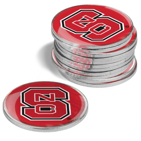 North Carolina State Wolfpack 12-Pack Golf Ball Markers
