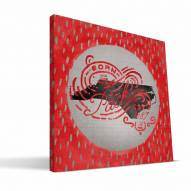 "North Carolina State Wolfpack 12"" x 12"" Born a Fan Canvas Print"