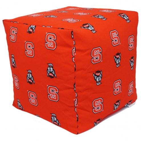 "North Carolina State Wolfpack 18"" x 18"" Cube Cushion"