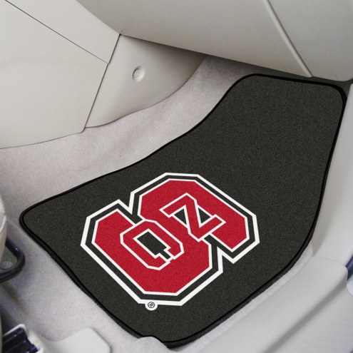 North Carolina State Wolfpack 2-Piece Carpet Car Mats