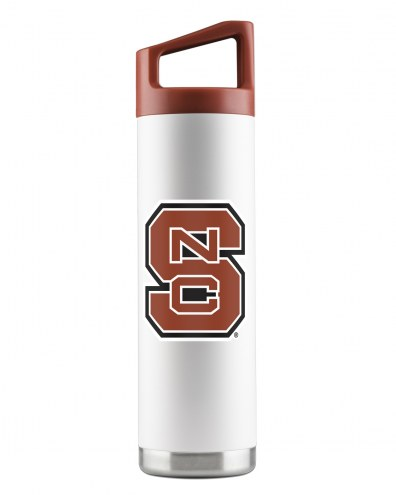 North Carolina State Wolfpack 22 oz. Stainless Steel Powder Coated Water Bottle