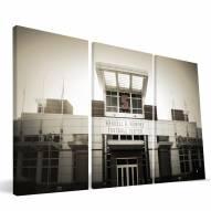 "North Carolina State Wolfpack 24"" x 48"" Stadium Canvas Print"