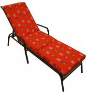 North Carolina State Wolfpack 3 Piece Chaise Lounge Chair Cushion