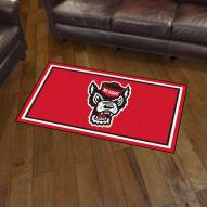 North Carolina State Wolfpack 3' x 5' Area Rug