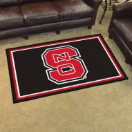 North Carolina State Wolfpack 4' x 6' Area Rug