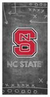 "North Carolina State Wolfpack 6"" x 12"" Chalk Playbook Sign"