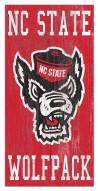 "North Carolina State Wolfpack 6"" x 12"" Heritage Logo Sign"