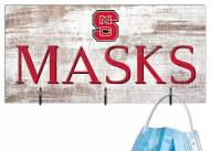 "North Carolina State Wolfpack 6"" x 12"" Mask Holder"
