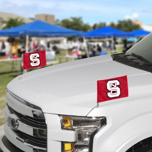 North Carolina State Wolfpack Ambassador Car Flags