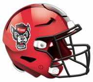 North Carolina State Wolfpack Authentic Helmet Cutout Sign
