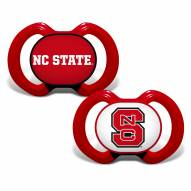 North Carolina State Wolfpack Baby Pacifier 2-Pack