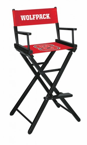 North Carolina State Wolfpack Bar Height Director's Chair