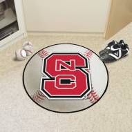 North Carolina State Wolfpack Baseball Rug